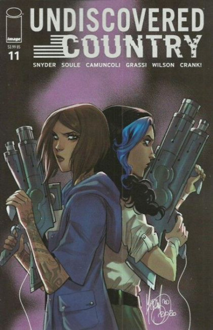 Image Comics Undiscovered Country #11B Comic Book