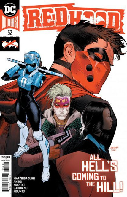 DC Comics Red Hood and the Outlaws, Vol. 2 #52A Comic Book