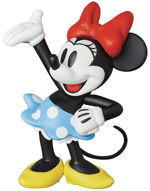 Disney Mickey Mouse UDF Ultra Detail Figure Series 9 Minnie Mouse 3-Inch PVC Figure (Pre-Order ships November)
