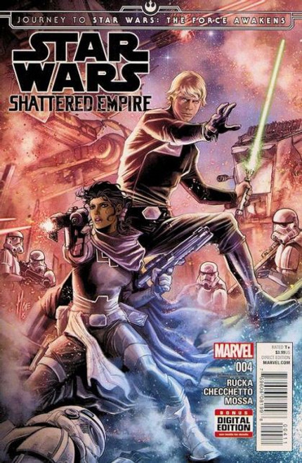 Marvel Journey to Star Wars: The Force Awakens - Shattered Empire #4A Comic Book