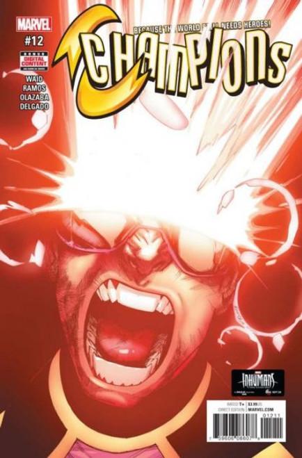 Champions, Vol. 2 (Marvel) #12A Comic Book