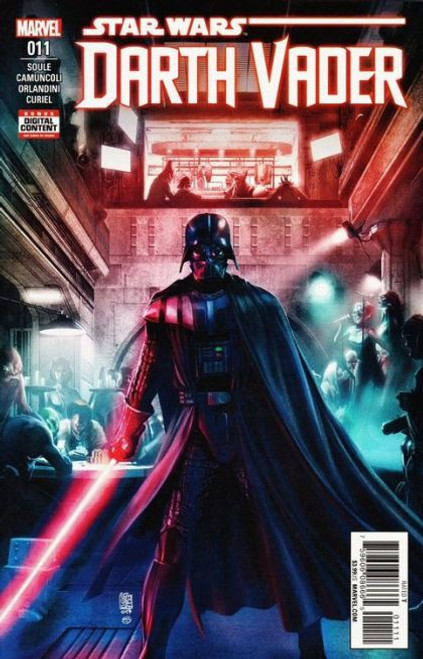 Marvel Star Wars: Darth Vader, Vol. 2 #11A Comic Book