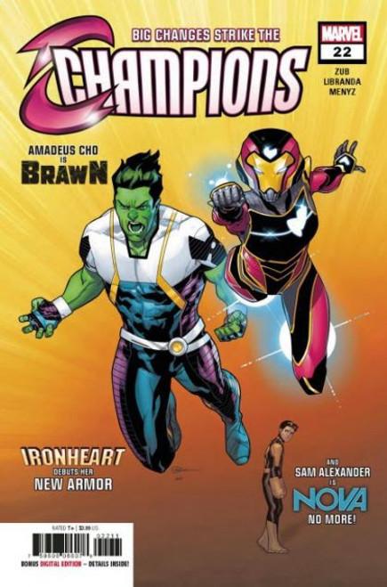 Champions, Vol. 2 (Marvel) #22A Comic Book