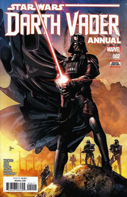 Marvel Star Wars: Darth Vader, Vol. 1 Annual #2A Comic Book