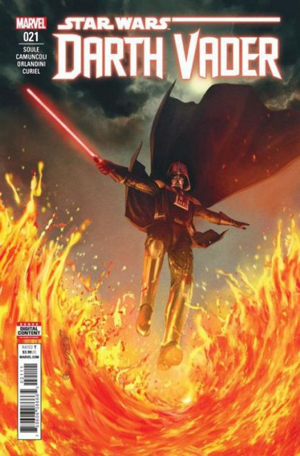 Marvel Star Wars: Darth Vader, Vol. 2 #21A Comic Book