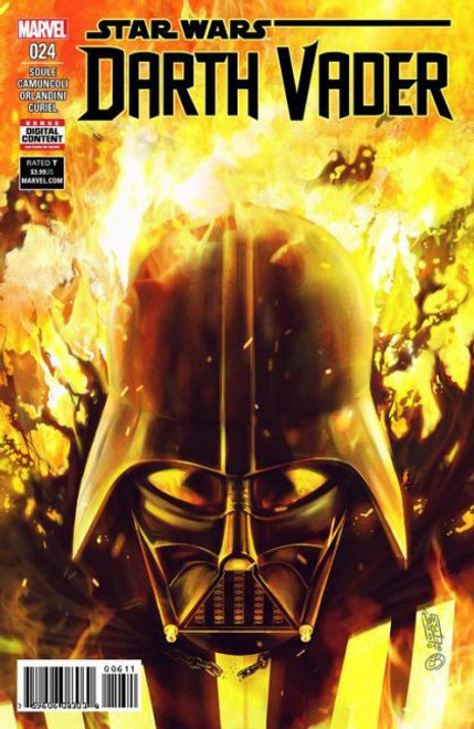 Marvel Star Wars: Darth Vader, Vol. 2 #24 Comic Book