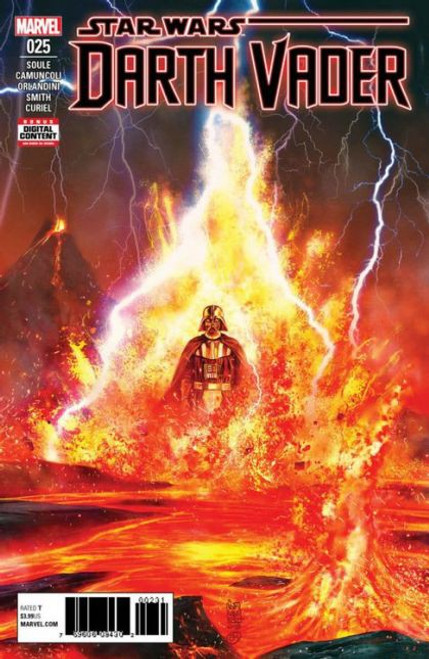 Marvel Star Wars: Darth Vader, Vol. 2 #25 Comic Book [Ahsoka Tano Cameo]