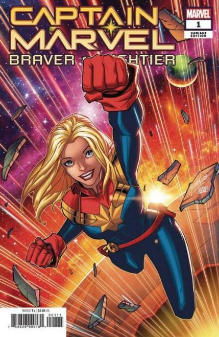 Captain Marvel: Braver & Mightier #1B Comic Book