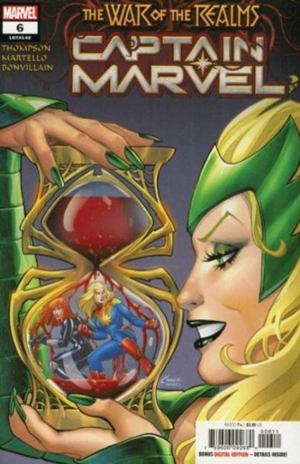 Captain Marvel, Vol. 11 #6A Comic Book [War of the Realms]