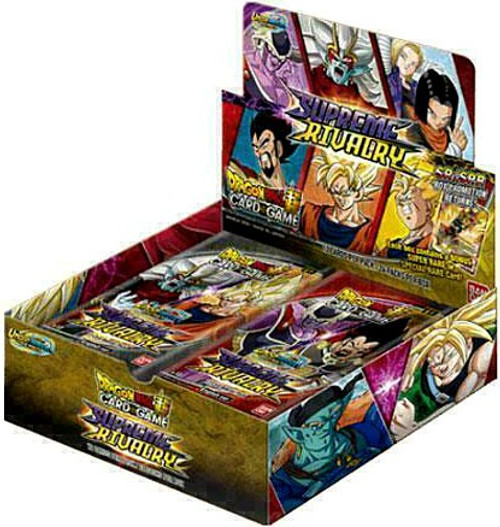 Dragon Ball Super Collectible Card Game Unison Warrior Series 4 Supreme Rivalry Booster Box PP04 [24 Packs] (Pre-Order ships April)