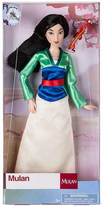 Disney Princess Classic Mulan with Mushu Exclusive 12-Inch Doll [Damaged Package]