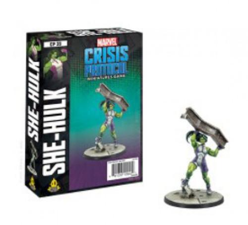 Marvel Crisis Protocol She-Hulk Character Pack