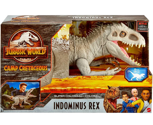 Jurassic World Camp Cretaceous Super Colossal Indominus Rex Exclusive Action Figure [Damaged Package]