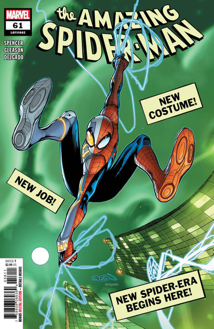 Marvel Comics Amazing Spider-Man #61 Comic Book (Pre-Order ships March)
