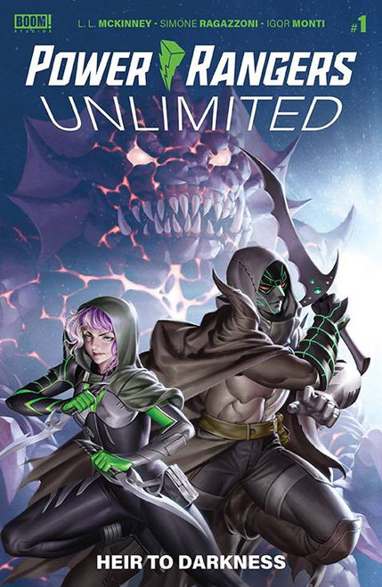 Boom Studios Power Rangers Unlimited #1 Heir to Darkness Comic Book [Cover B Connecting Yoon] (Pre-Order ships March)