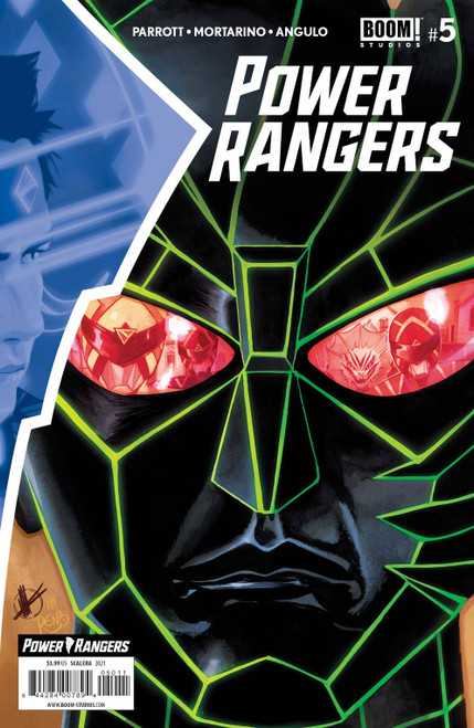 Boom Studios Power Rangers #5 Comic Book [Cover A Scalera]