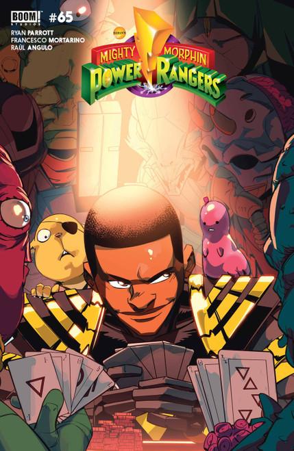 Boom Studios Power Rangers #5 Comic Book [Cover B Legacy Variant Di Nicuolo]