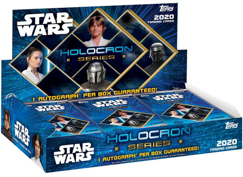 Star Wars Topps 2020 Holocron Series Trading Card HOBBY Box [18 Packs, 1 Autograph]