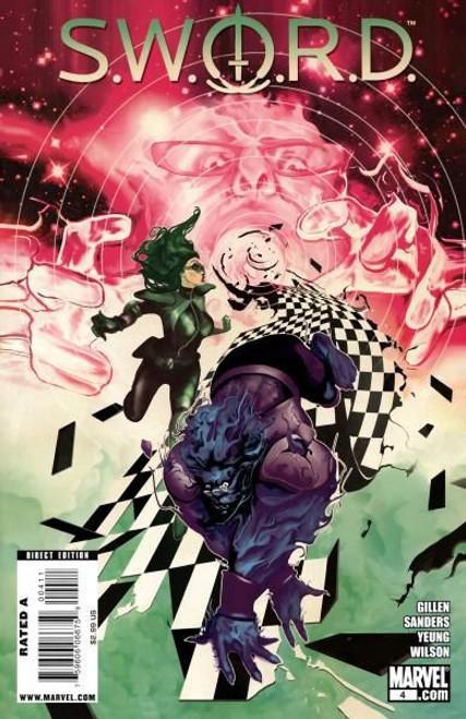 Marvel S.W.O.R.D., Vol. 1 #4 Comic Book