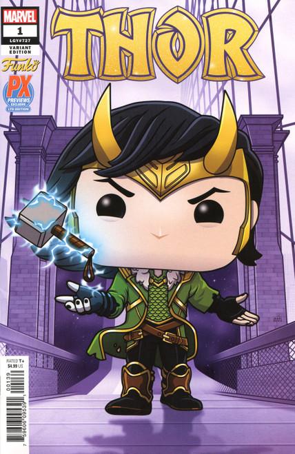 Funko Marvel Comics Thor #1 Exclusive Comic Book [Purple Variant]