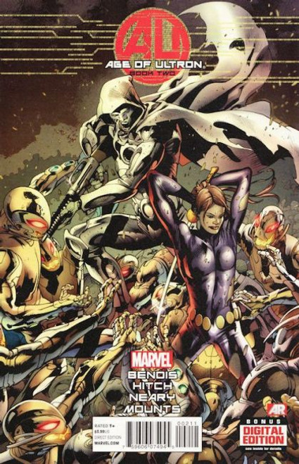 Marvel Age of Ultron #2A Comic Book