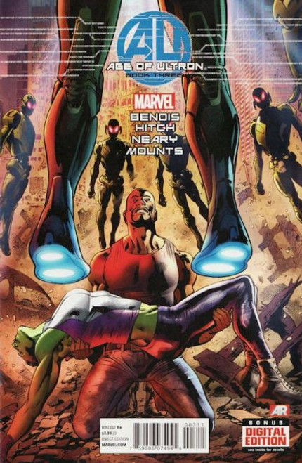 Marvel Age of Ultron #3A Comic Book