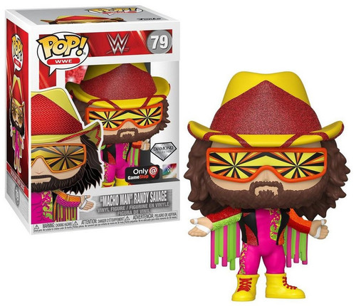 "Funko WWE Wrestling NWSS POP! WWE ""Macho Man"" Randy Savage Exclusive Vinyl Figure [Diamond Edition]"
