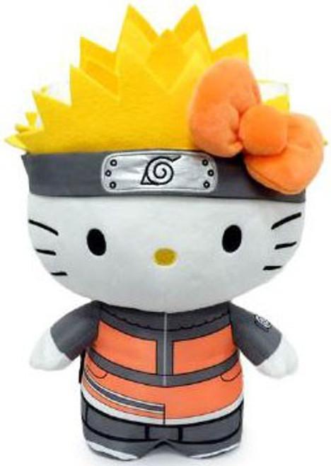 Naruto x Sanrio Hello Kitty Naruto 13-Inch Plush