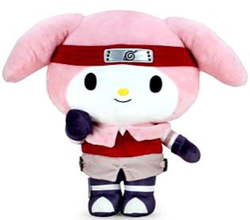 Sanrio Naruto x Hello Kitty Sakura 13-Inch Plush (Pre-Order ships June)