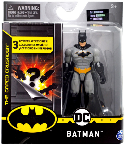 DC The Caped Crusader Batman Action Figure [Rebirth, Version 2]