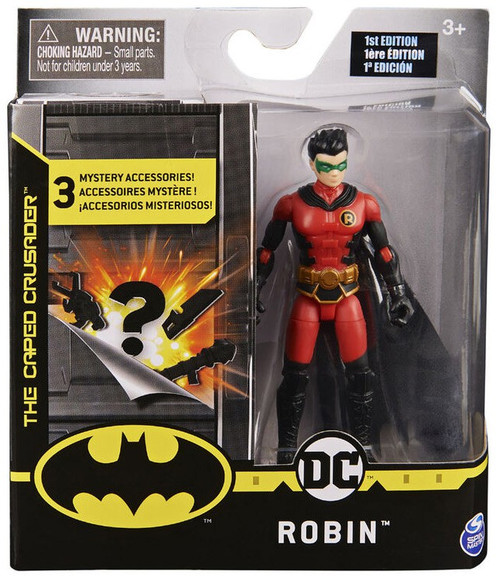 DC Batman The Caped Crusader Robin Action Figure