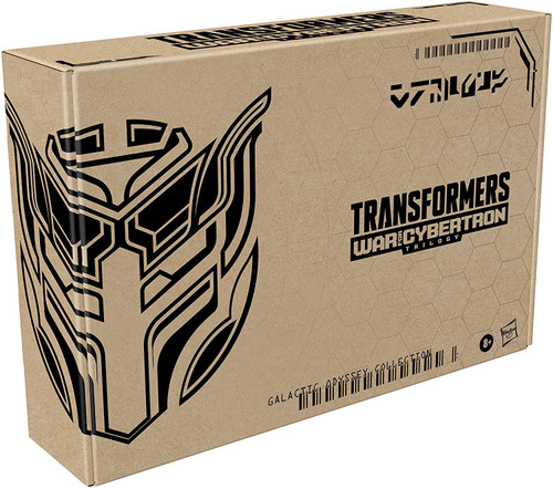 Transformers Generations War for Cybertron Galactic Odyssey Collection Dominus Criminal Pursuit Exclusive Deluxe Action Figure 2-Pack [Counterpunch & Barricade] (Pre-Order ships January)