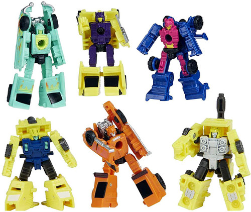 """Transformers Generations War for Cybertron Galactic Odyssey Collection Micron Micromasters 1.5"""" Action Figure 6-Pack (Pre-Order ships February)"""