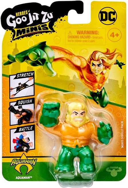 Heroes of Goo Jit Zu DC Aquaman MINI Figure