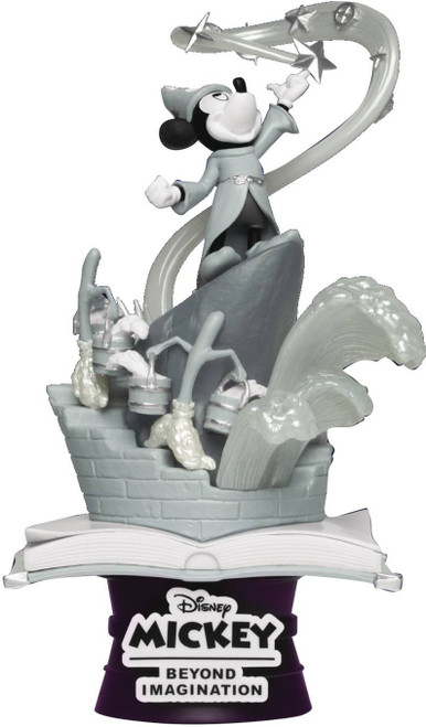 Disney D-Stage Sorcerers Apprentice 6-Inch Diorama Statue DS-018SP [Special Edition] (Pre-Order ships June)