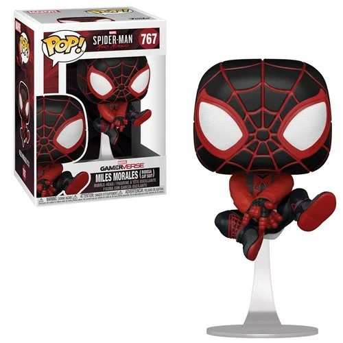 Funko Marvel Spider-Man POP! Games Miles Morales Vinyl Figure #767 [Bodega Cat Suit] (Pre-Order ships March)