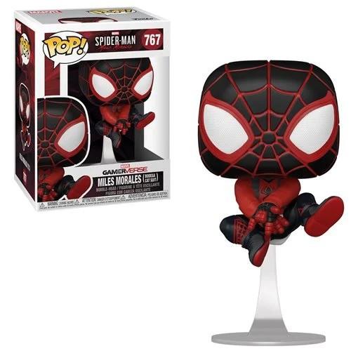 Funko Marvel Spider-Man POP! Games Miles Morales Vinyl Figure #767 [Bodega Cat Suit]