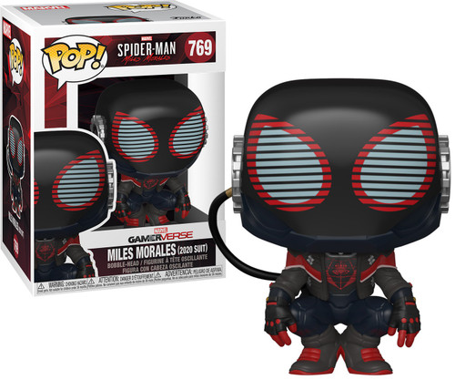Funko Marvel Spider-Man POP! Games Miles Morales Vinyl Figure #769 [2020 Suit]