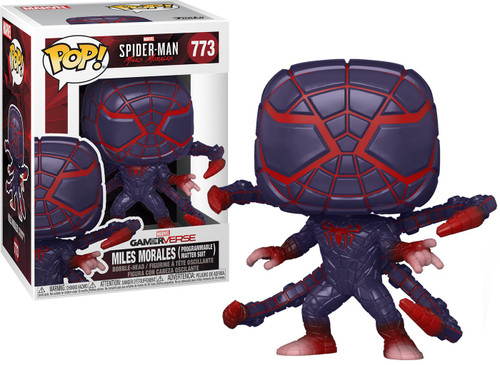 Funko Marvel Spider-Man POP! Games Miles Morales Vinyl Figure #773 [Programmable Matter Suit] (Pre-Order ships April)