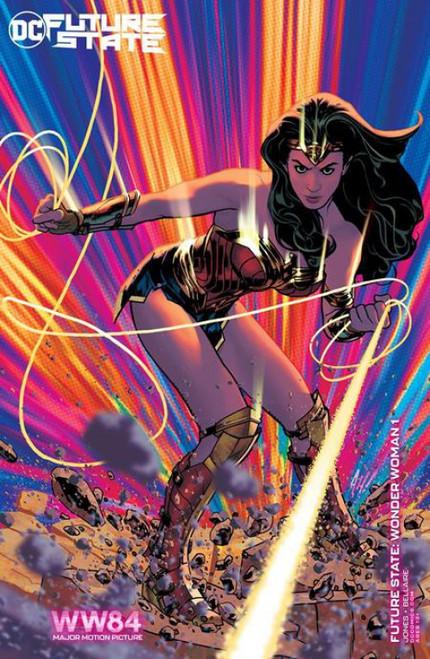 DC Comics Future State Wonder Woman #1 of 2 Comic Book [Adam Hughes Wonder Woman 84 WW84 Variant]