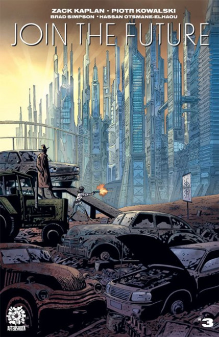 Aftershock Comics Join The Future #3 Comic Book