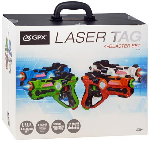 Laser Tag 4-Player Set