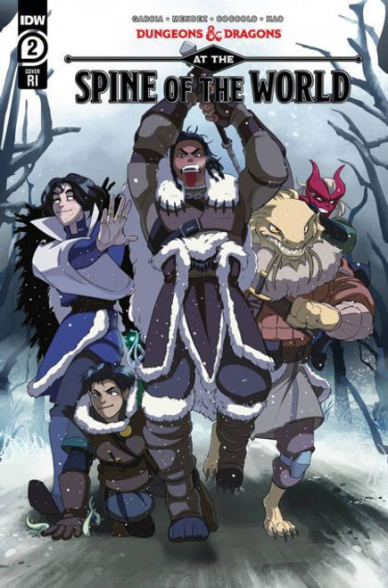 IDW Publishing Dungeons & Dragons: At The Spine Of The World #2 Comic Book [Frazier Incentive Variant]