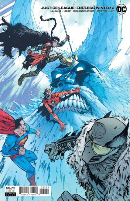 DC Comics Justice League: Endless Winter #2B Comic Book
