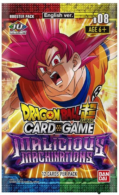 Dragon Ball Super Collectible Card Game Series 8 Malicious Machinations Booster Pack DBS-B08 [12 Cards]
