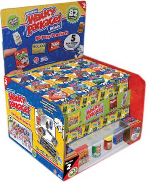 World's Smallest Wacky Packages Minis Series 2 Mystery Box [24 Packs]