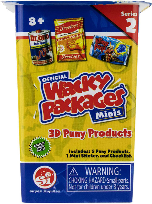 World's Smallest Wacky Packages Minis Series 2 Mystery Pack [5 Pieces]