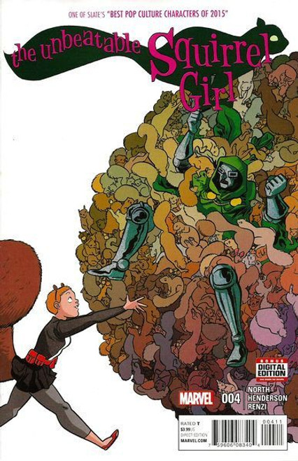 Marvel Unbeatable Squirrel Girl, Vol. 2 #4A Comic Book