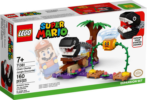 LEGO Super Mario Chain Chomp Jungle Encounter Expansion Set #71381