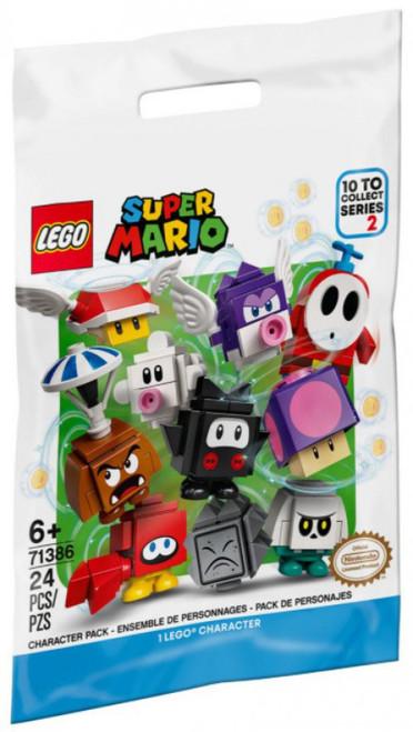 LEGO Series 2 Super Mario Mystery Pack #71386 [1 RANDOM Figure]